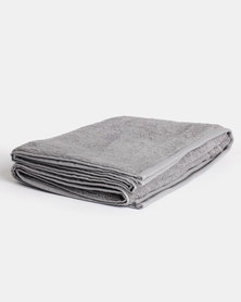 Linen House Reed Bath Sheet Grey
