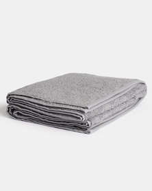 Linen House Reed Bath Towel Grey