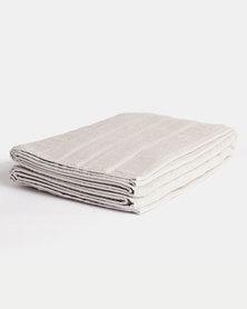 Linen House Selene Bath Sheet Tea