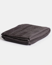 Linen House Selene Bath Towel Carbon
