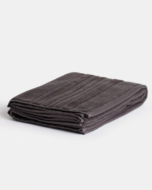 Linen House Selene Bath Mat Carbon
