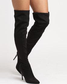 Call It Spring Kedigorwen Sock Boots Black