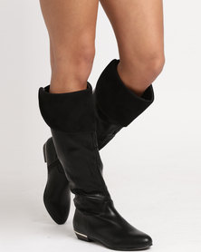 Call It Spring Ruvonenn Knee-High Boots Black