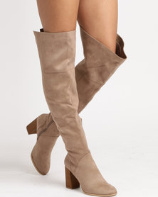 Call It Spring Wignall Boots Taupe