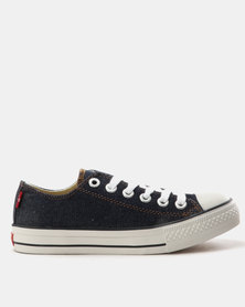 Levi's Pitch Lo Canvas Sneakers Dark Denim