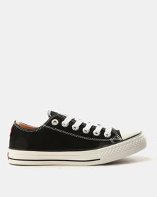 Levi's Pitch Lo Canvas Sneakers Black