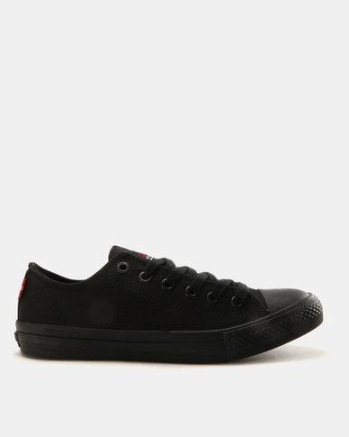 Levi s® Pitch Lo Canvas Sneakers Mono Black  044dc9286d9