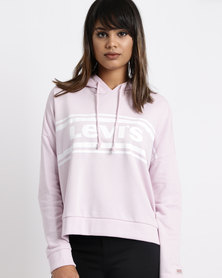 Levi's Graphic Track Hoodie Light Lilac
