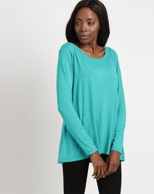 Utopia Relaxed Fit Tee Teal