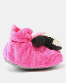 Character Brands Booties Minnie Mouse Pink