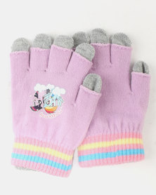 Character Brands My Little Pony 2 Pack Gloves Purple