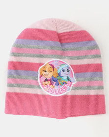 Character Brands Paw Patrol Girls 3 Piece Winter Set Pink