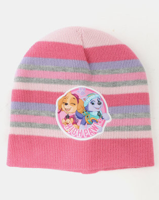 bf73a314bd312 Character Brands Paw Patrol Girls 3 Piece Winter Set Pink