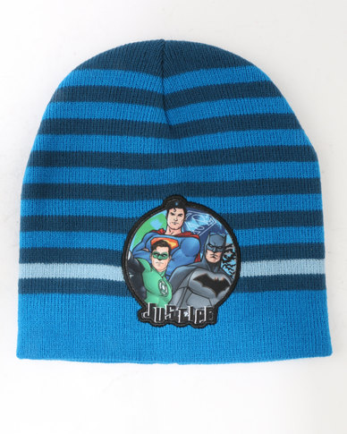 Character Brands Justice League Basic Beanie Blue
