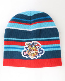 Character Brands Paw Patrol Boys Basic Beanie Blue/Red