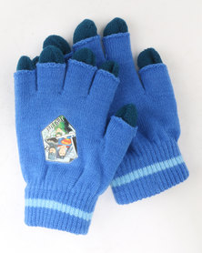 Character Brands Justice League 2 Pack Gloves Blue
