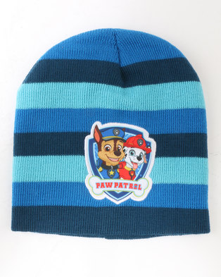 da5c167ccb6 Character Brands Paw Patrol Boys 3 Piece Winter Set Blue