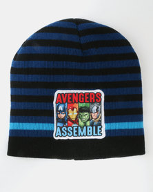 Character Brands  The Avengers 3 Piece Winter Set Black