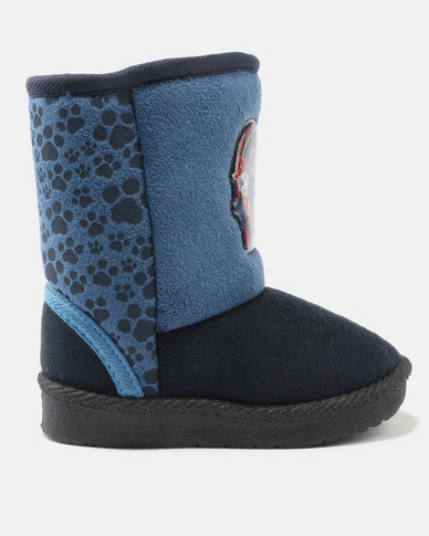 dc9f921b224 Character Brands Paw Patrol Ugg Boots Blue