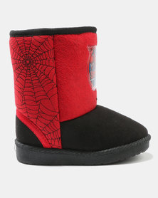 Character Brands Ugg Boots Spider-Man Red