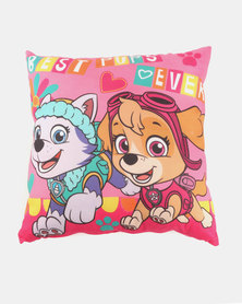 Character Brands Paw Patrol Cushion Multi/Pink