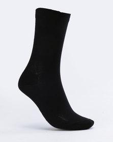 Falke Mercerised Cotton Socks Navy