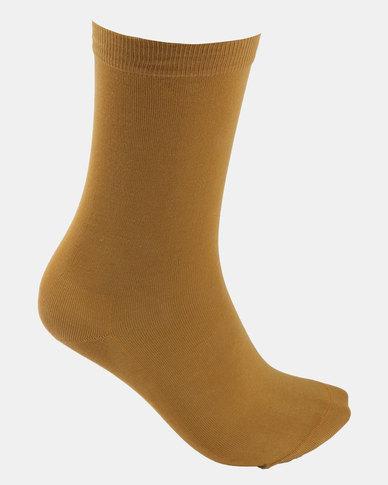 Falke Mercerised Cotton Socks Inca Gold