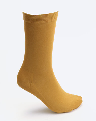 Falke Mercerised Cotton Socks Inca Gold