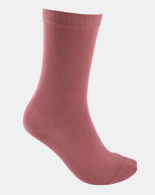 Falke Mercerised Cotton Socks Rosy Blush