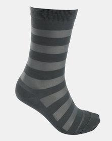 Falke Sheer Stripe Socks Ocean Mist