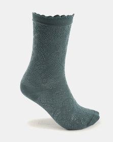 Falke Rococo Socks Ocean Mist