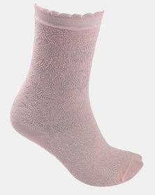 Falke Rococo Socks Soft Pink