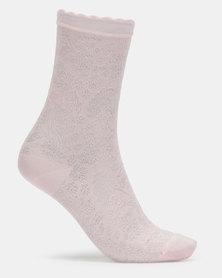 Falke Rococo Socks Pink