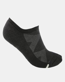Falke Silver Cushion Socks Black