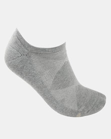 Falke Silver Cushion Socks Ash Melange