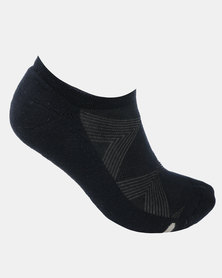 Falke Silver Cushion Socks Navy