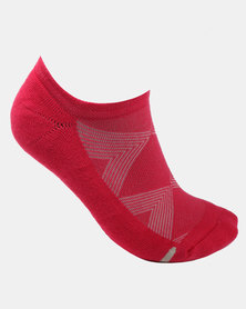 Falke Silver Cushion Socks Bright Fuchsia