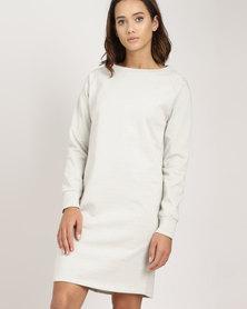 Lizzy Lykke Dress Metallic Ivory