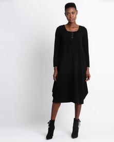 Famous Peggy Dress Black