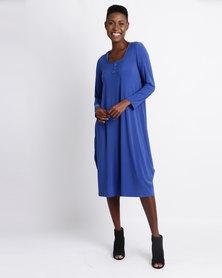 Famous Peggy Dress Blue
