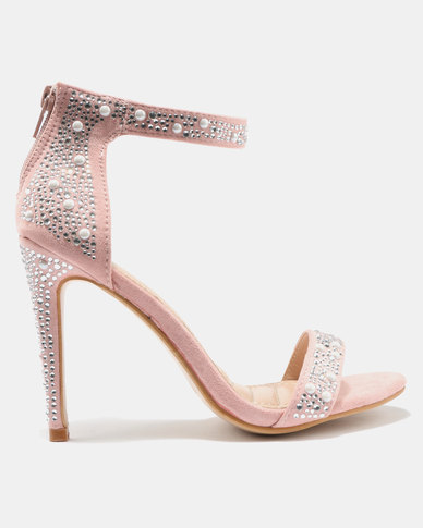 324485d66874 Courtney Cousins In Love with Candy Heeled Sandals Pink