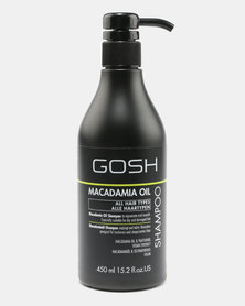 GOSH Professional Hair Care Macademia Shampoo 450ml