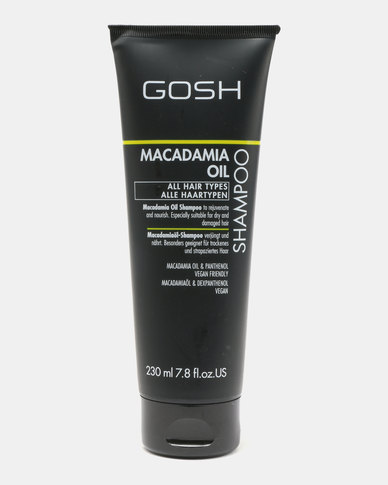 GOSH Professional Hair Care Macadamia Shampoo 230ml