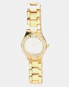 Lanco Strap Watch Gold-tone