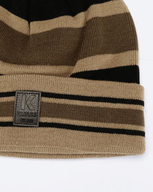 3b7c0500d66 Klevas Harley Reversible Check Plain Suede Effect Bucket Hat Brown ...
