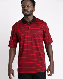 Ballantyne Striped Golfer Berry