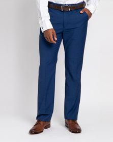 JCrew Fancy Flat Front Trousers Blue
