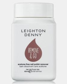 Leighton Denny Remove & Go Polish Remover 60ml
