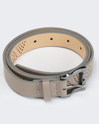 Courtney Cousins Showing Up Belt Taupe