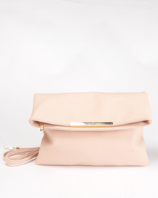 Courtney Cousins Sugar Rush Fold Over Bag Pink